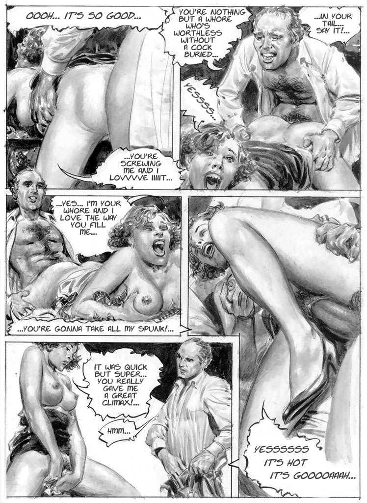 Комиксы порно теща